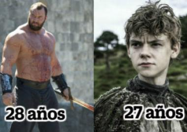 The Mountain, Jojen Reed, Game of Thrones,