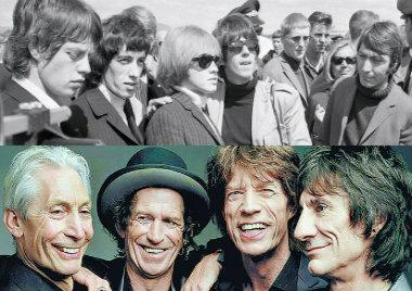 musica, los rolling stones, 56 años, mick jagger, keith richards, the rolling stones, rock