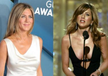 looks de Jennifer Aniston sin brasier