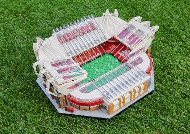 estadio Old Trafford del Manchester United LEGO