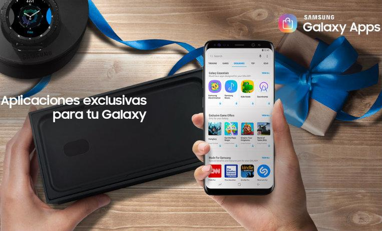 Galaxy Apps, equipos Galaxy y Gear