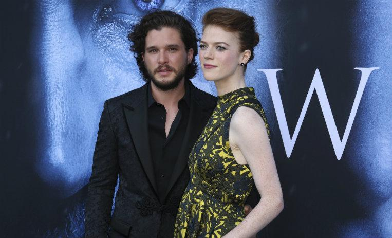 Ygritte, Jon Snow, Kit Harington, Rose Leslie, fecha de boda, game of thrones, pareja, serie, HBO,