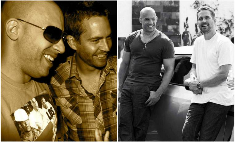 vin diesel, paul walker, muerte de paul walker, actores que son amigos, actores inseparables, rápidos y furiosos, fast and furious
