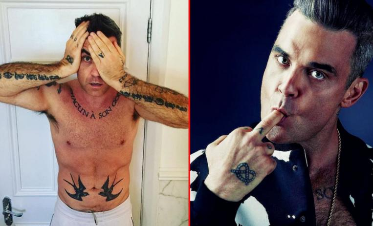 la enfermedad de Robbie Williams