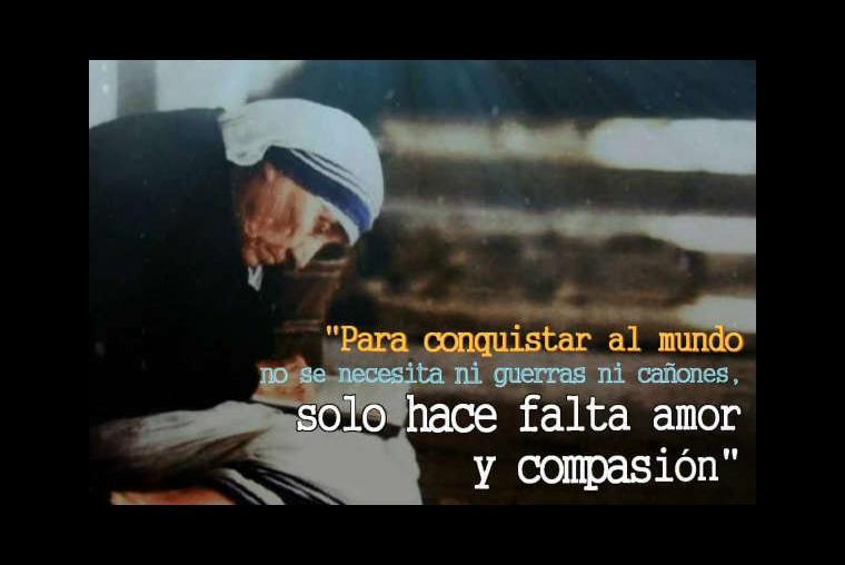 10 Frases Emblemáticas De La Madre Teresa De Calcuta Imágenes