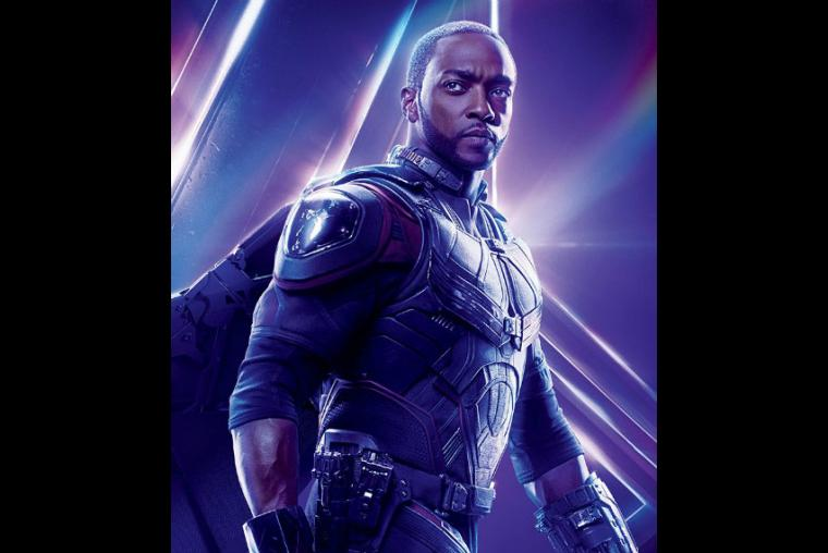Falcon, Anthony, Mackie, superhéroes, Avengers 4, Universo Marvel, películas,